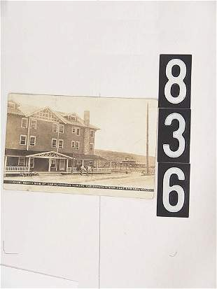 STEAMBOAT SPGS COLO DEPOT REAL PHOTO POST CARDS