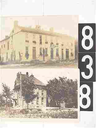 9 MISSOURI POST CARDS INCL ARROW ROCK OLD TAVERN