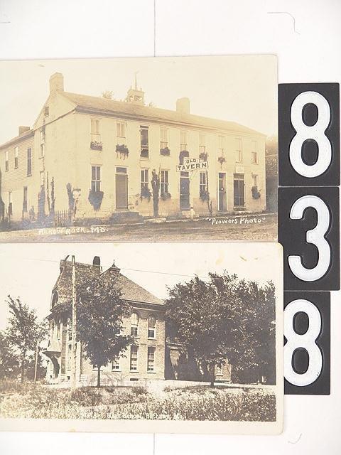 838: 9 MISSOURI POST CARDS INCL ARROW ROCK OLD TAVERN