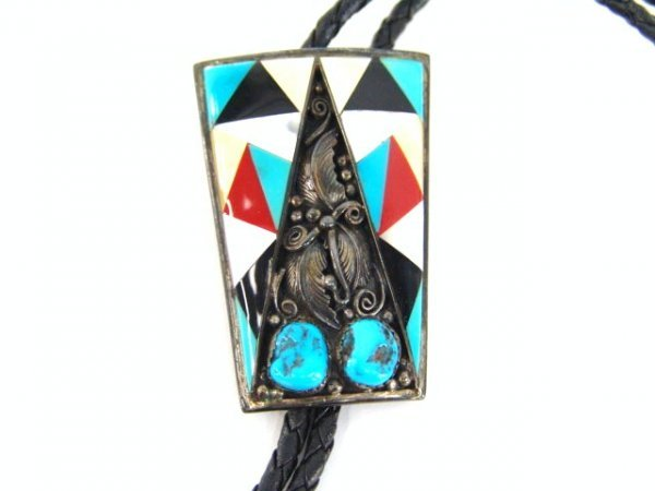 7: MULTI-TECHNIQUE AMERICAN INDIAN BOLO TIE
