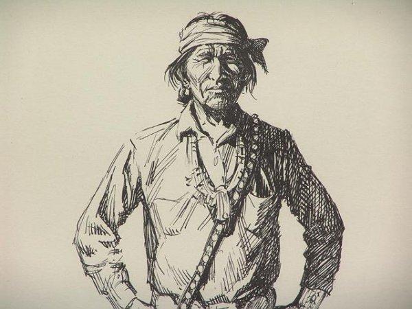 17: DON PERCEVAL [1908-1979] PORTRAIT OF A NAVAJO