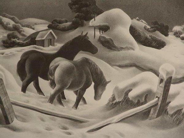 18: JOHN STOCKTON DE MARTELLY (1903 - 1979) LITHOGRAPH