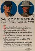 A WWI ORDNANCE DEPT. U.S. ARMY POSTER