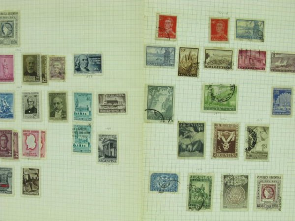 1005: THREE STAMP ALBUMS: MEXICAN & SOUTH AMERICAN - 2