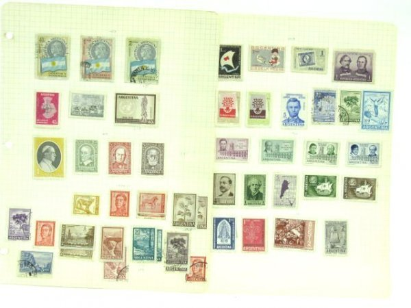 1005: THREE STAMP ALBUMS: MEXICAN & SOUTH AMERICAN - 5