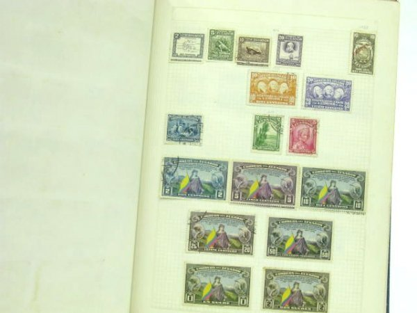 1005: THREE STAMP ALBUMS: MEXICAN & SOUTH AMERICAN - 7