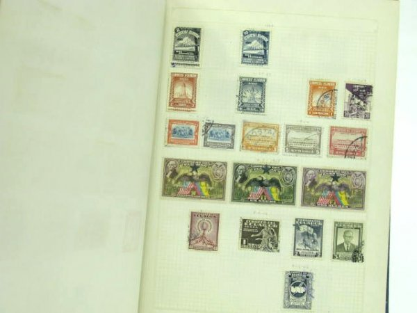 1005: THREE STAMP ALBUMS: MEXICAN & SOUTH AMERICAN - 9