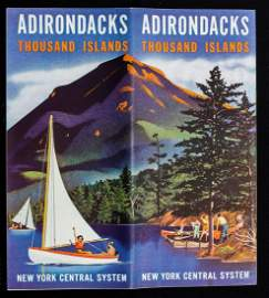 A COLLECTION OF 1930s NEW YORK CENTRAL TRAVEL BROCHURES