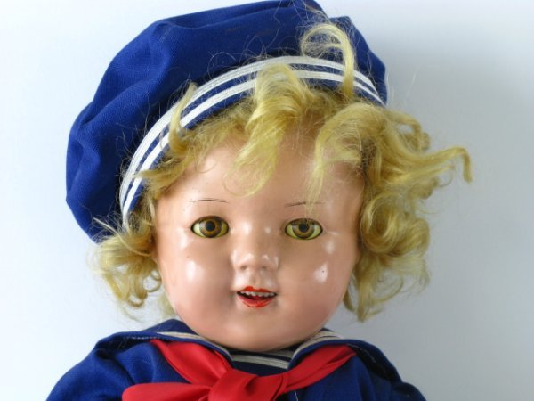 400: 21 INCH SHIRLEY TEMPLE COMPOSITION DOLL