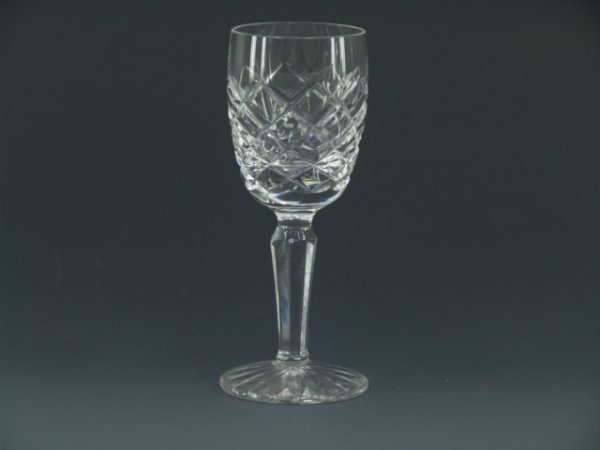 420: EIGHT FINE WATERFORD CRYSTAL CORDIALS