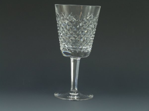 422: EIGHT FINE WATERFORD CRYSTAL WATER GOBLETS