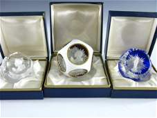 460: RARE BACCARAT SULPHIDE PAPERWEIGHTS