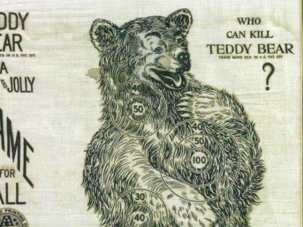757: TEDDYBEAR GAME, WHO CAN KILL THE BEAR 1906