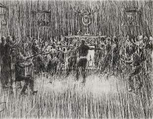 HENRY ZIEGLER 18891968 PENCIL SIGNED ETCHING