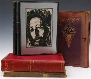 FIVE WILLIAM POGANY 18821955 ILLUSTRATED BOOKS