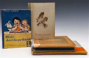 M FISCHEROVAKVECHOVA 18921984 ILLUSTRATED BOOKS