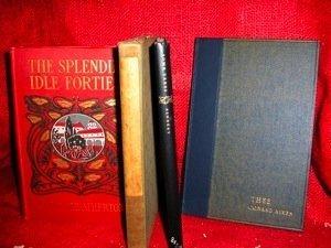 345: Lot of Ltd, 1st Ed, DJ'd, Signed American Literatu