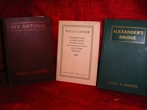 350: Three Willa Cather works of American Literature