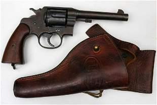 COLT MODEL 1917 45 CALIBER DOUBLE ACTION REVOLVER