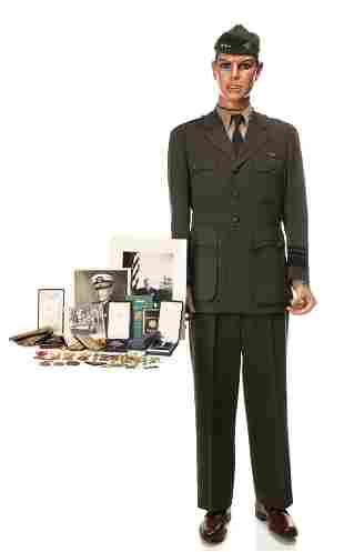 ADMIRAL JOHN S. MCCAIN UNIFORM, MEDALS 100s OF OBJECTS