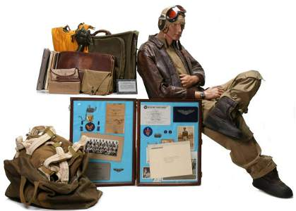 IMPORTANT 75-ITEM ARCHIVE OF TUSKEGEE AIRMAN WM POWELL