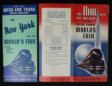 A COLLECTION OF NEW HAVEN RR WORLDS FAIR EPHEMERA