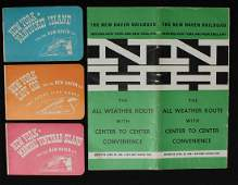 A COLLECTION OF NEW HAVEN RAILROAD EPHEMERA