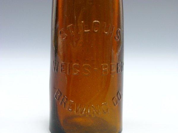 721: BEER BOTTLE WEISS-BEER ST LOUIS CORK TOP