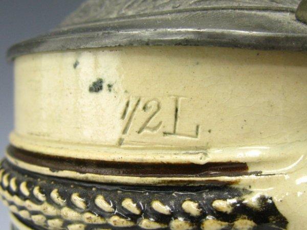 854: 1904 ST LOUIS WORLDS FAIR, BEER STEIN 1/2 L - 6