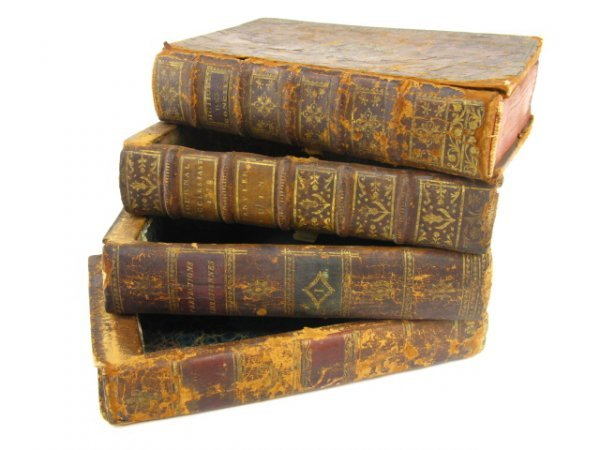 1004: LEATHER BOOKS REVEAL HIDDEN COMPARTMENTS