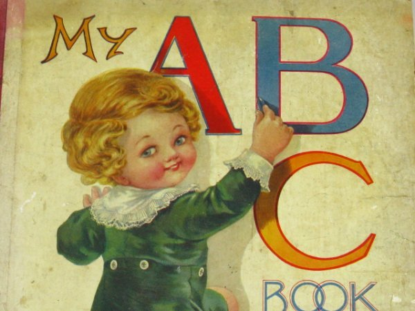 1410: 3 EARLY CHILDREN BOOKS, MY PETS, ABC's, PRIMER