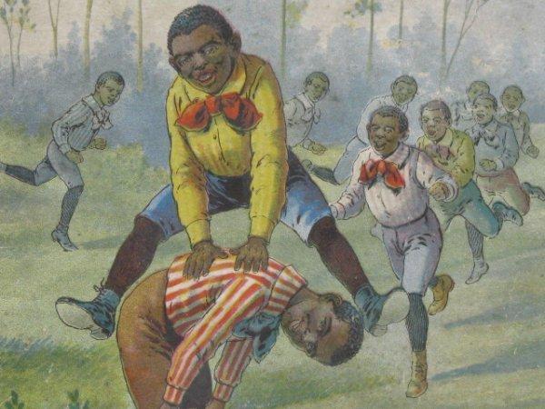 1411: BLACK AMERICANA, SONG BOOK, TEN LITTLE KIDS
