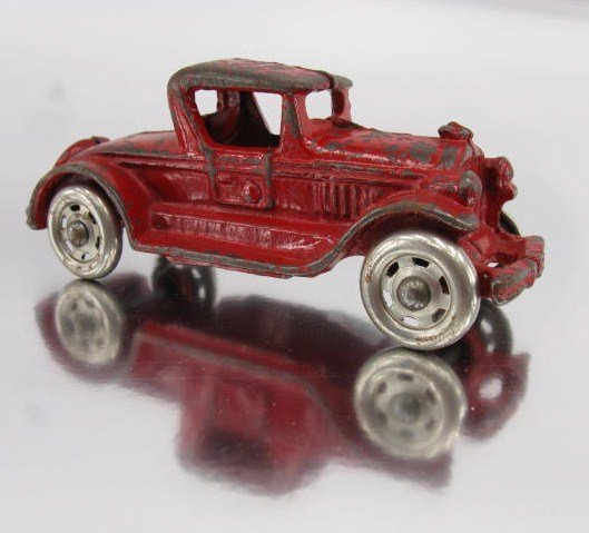 1416: TOY CAR FIVE WHEEL COUPE AUTO SPEEDSTER