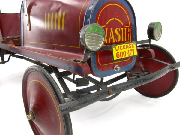 1583: C. 1910 NASH PEDAL CAR, EX-JERRY SMITH COLLECTION