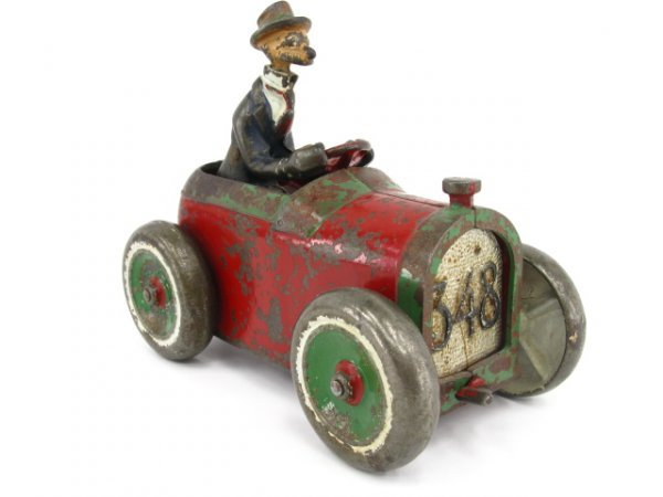 1602: ANDY GUMP 348 CAR, CAST IRON COMIC TOY