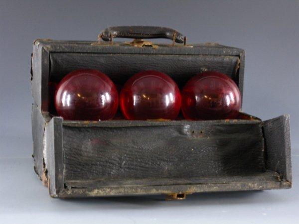 3: RED COMET FIRE EXTINGUISHER GRENADE SET + CASE