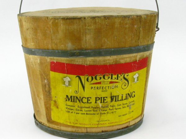 9: NOGGLE'S MINCE MEAT PIE FILLING BUCKET WITH LID