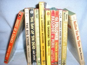 279: A Selection of Collectible Paperback Mysteries