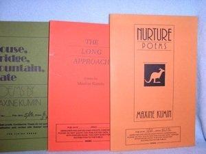 283: Three Maxine Kumin Uncorrected Proofs -- Signed