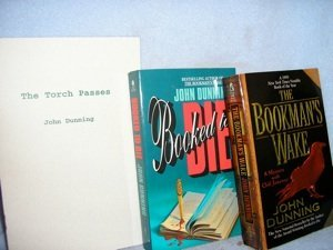"288: Two John Dunning paperbacks & signed ""Torch Passes"