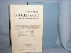 290: John Dunning.  Advance Review.  Inscribed!