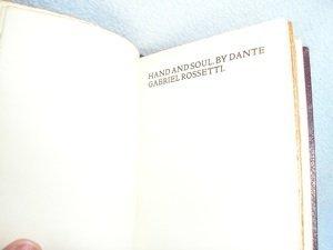 353: Rossetti - Kelmscott Press