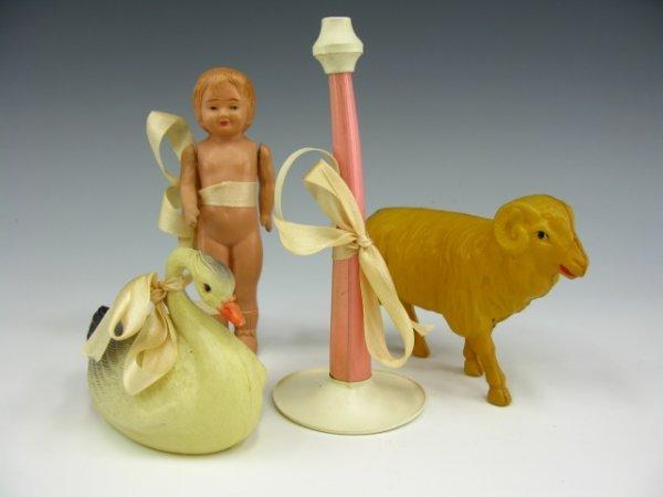 CELLUOLOID GIFT SET - BABY, RAM & GOOSE, HORN