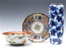 A COLLECTION OF ANTIQUE JAPANESE PORCELAIN