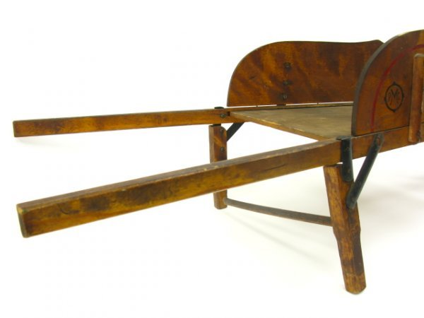 CHILD'S WOOD WHEELBARROW BY PARIS MFG CO - 4