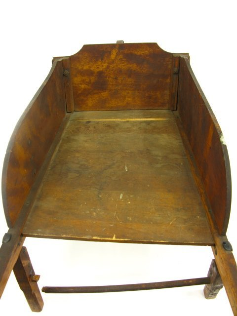 CHILD'S WOOD WHEELBARROW BY PARIS MFG CO - 7