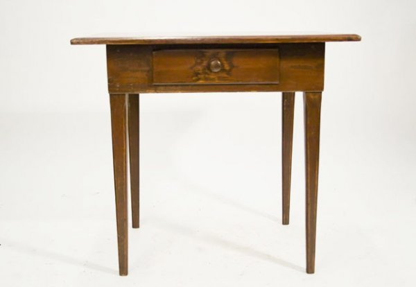 8: CIRCA 1830 PENNSYLVANIA PINE TAVERN TABLE