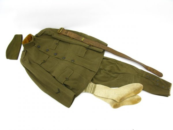 507: US ARMY WWI FRENCH MADE OFFICER UNIFORM