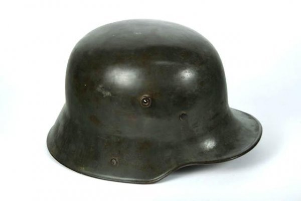 508: NAMED GERMAN WWI M-16 STEEL HELMET