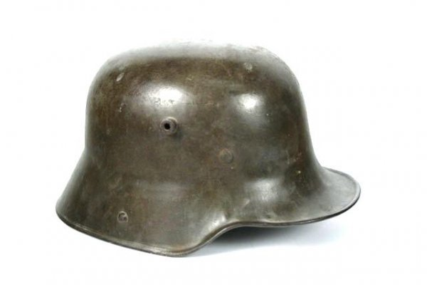 509: IMPERIAL GERMAN WWI M-16 STEEL HELMET